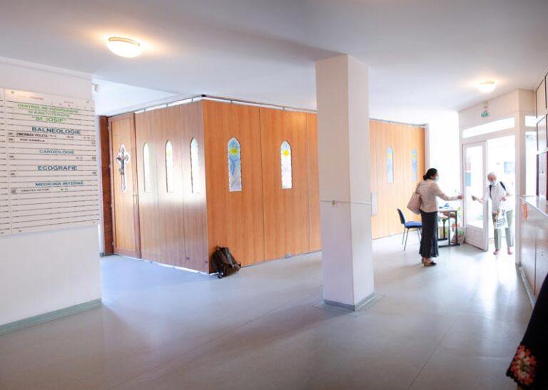 Sala intrare clinica medicala sf Iosif